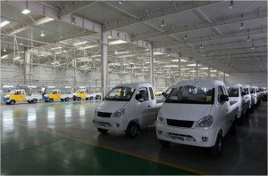 Chinese electric cars, courtesy of the NY Times