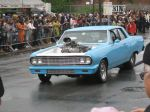 MDP blue muscle car