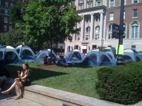 Columbia tent city