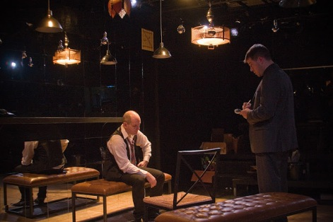"Matthew Foster and Michael Poignard in Australian Made Entertainment's production of ""Speaking In Tongues"""