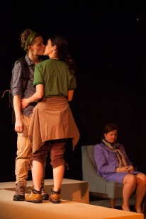 Alisha Spielman, Rachael Hip-Flores, and Susan Ferrara (p.c. Titus Winters)
