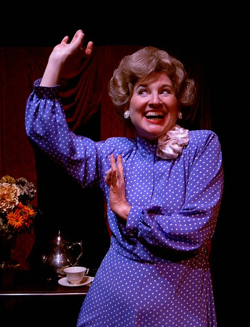 Elaine Bromka as Betty Ford (Photo by Ron Marotta)
