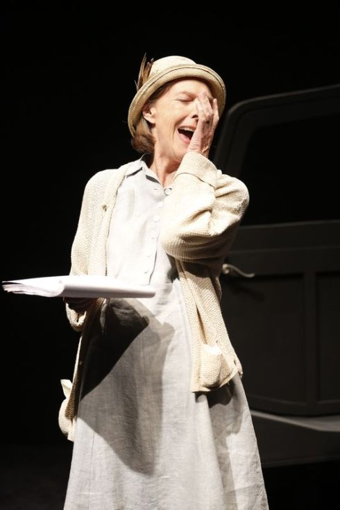 "Eileen Atkins as Maddy Rooney in Beckett's ""All That Fall"""