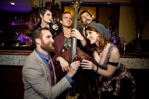 Potion featuring Raife Baker, Liz Eckert, Sean Cronin, Noah Schultz, and Natalie Hegg Photo credit Carrie Leonard